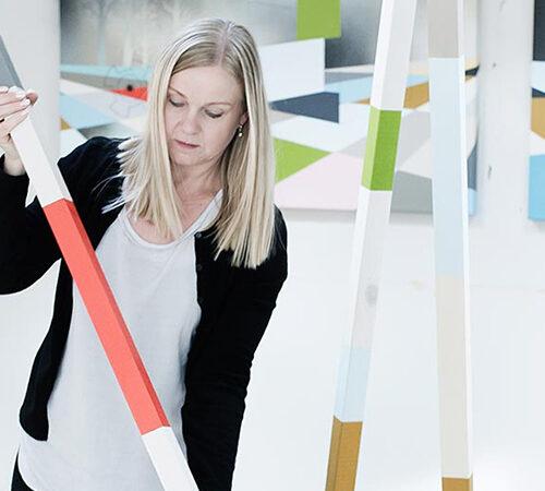 Artist Annette Gerlif
